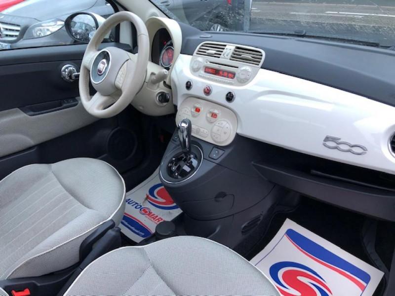 Photo 13 de l'offre de FIAT 500 1.2I69 S&S BVA LOUNGE CLIM RADAR TOITOUVRANT à 7990€ chez Triplo auto