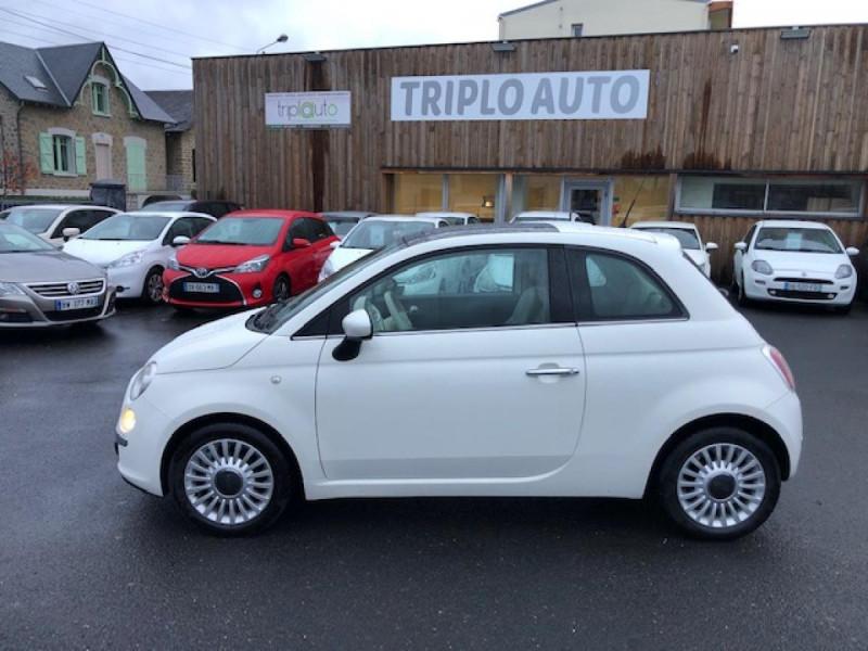 Photo 2 de l'offre de FIAT 500 1.2I69 S&S BVA LOUNGE CLIM RADAR TOITOUVRANT à 7990€ chez Triplo auto