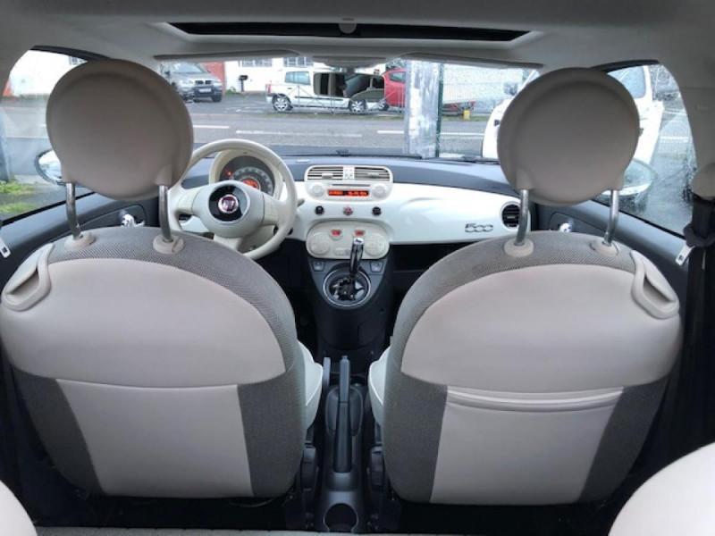 Photo 9 de l'offre de FIAT 500 1.2I69 S&S BVA LOUNGE CLIM RADAR TOITOUVRANT à 7990€ chez Triplo auto
