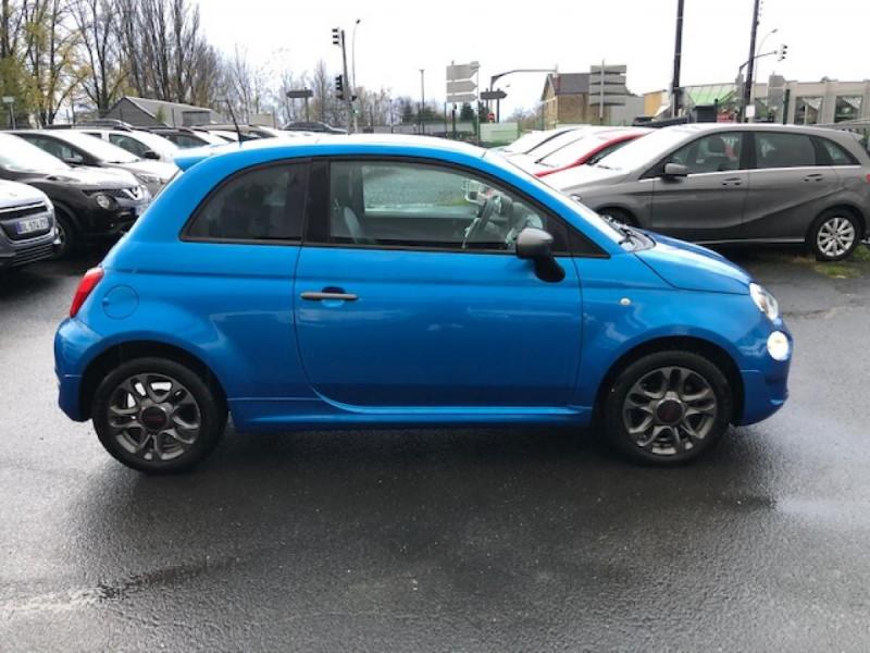 Photo 6 de l'offre de FIAT 500 S 1.2I - 69 CLIM RADAR TOIT UCONNECT à 10650€ chez Triplo auto