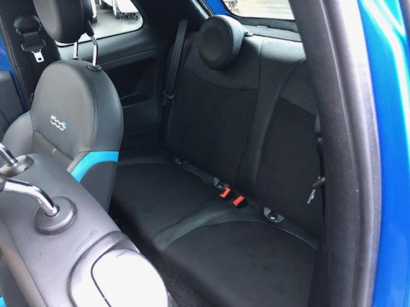 Photo 10 de l'offre de FIAT 500 S 1.2I - 69 CLIM RADAR TOIT UCONNECT à 10650€ chez Triplo auto
