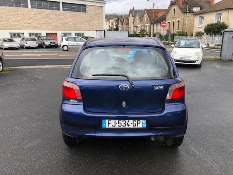 Photo 4 de l'offre de TOYOTA YARIS 1.3I 86CV LINEA LUNA CLIM  GAR3MOIS à 2990€ chez Triplo auto