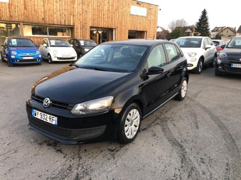 Volkswagen POLO 1.2 TDI CR FAP - 75  TRENDLINE CLIM Diesel NOIR Occasion à vendre