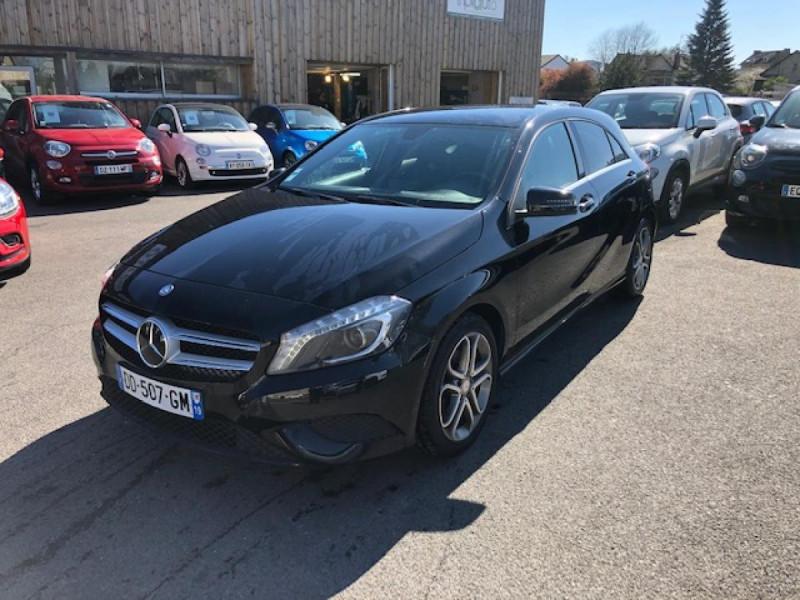 Mercedes-Benz CLASSE A A 200 CDI FAP BLUEEFFICIENCY  SENSATION  Diesel NOIR MéTALLISé Occasion à vendre