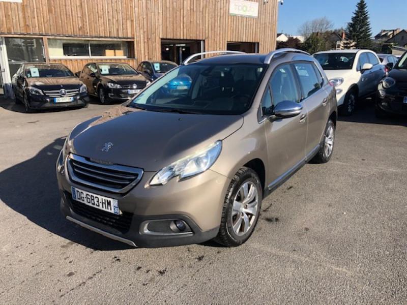 Peugeot 2008 1.6 E-HDI FAP - 92  ALLURE Diesel GRIS Occasion à vendre