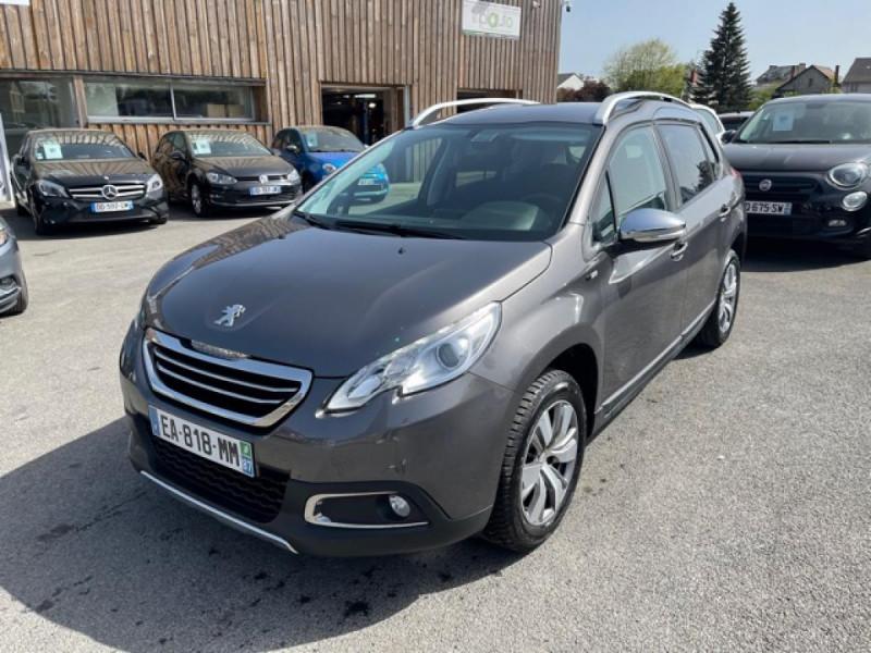 Peugeot 2008  1.2I PURETECH 12V - 82  STYLE   GPS  Essence GRIS Occasion à vendre