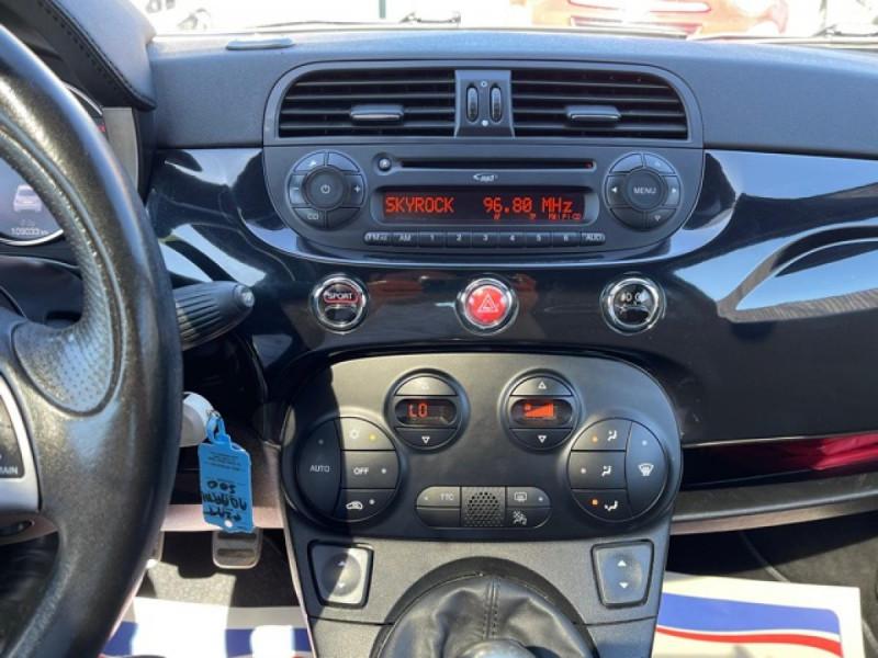 Photo 20 de l'offre de FIAT 500 ABARTH 1.4I 16V - 160 - 595 TURISMO à 12990€ chez Triplo auto