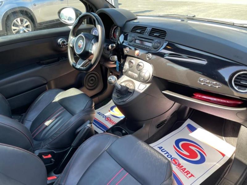 Photo 17 de l'offre de FIAT 500 ABARTH 1.4I 16V - 160 - 595 TURISMO à 12990€ chez Triplo auto