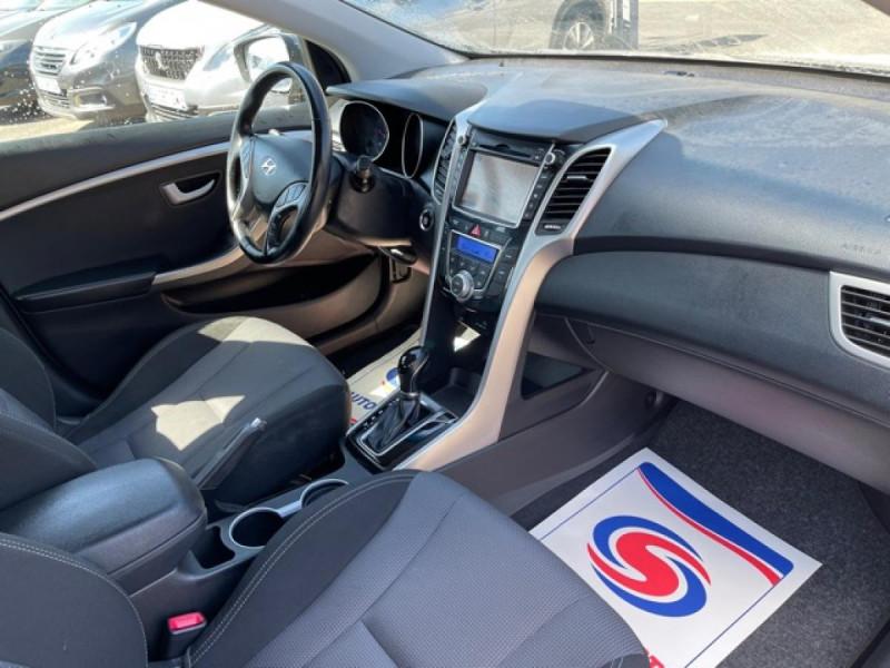 Photo 14 de l'offre de HYUNDAI I30 1.6 CRDI - 110 - BVA DCT-7 EXECUTIVE GPS à 10990€ chez Triplo auto