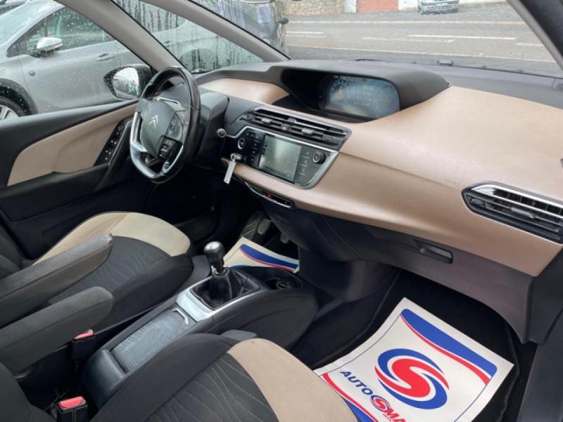 Photo 9 de l'offre de CITROEN C4 PICASSO 1.6 E-HDI115 INTENSIVE GPS RADAR 1ERE MAIN CARNET A JOUR à 8250€ chez Triplo auto