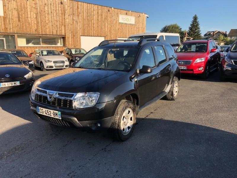 Dacia DUSTER 1.5 DCI110 LAURéATE CLIM DISTRI OK Diesel NOIR Occasion à vendre