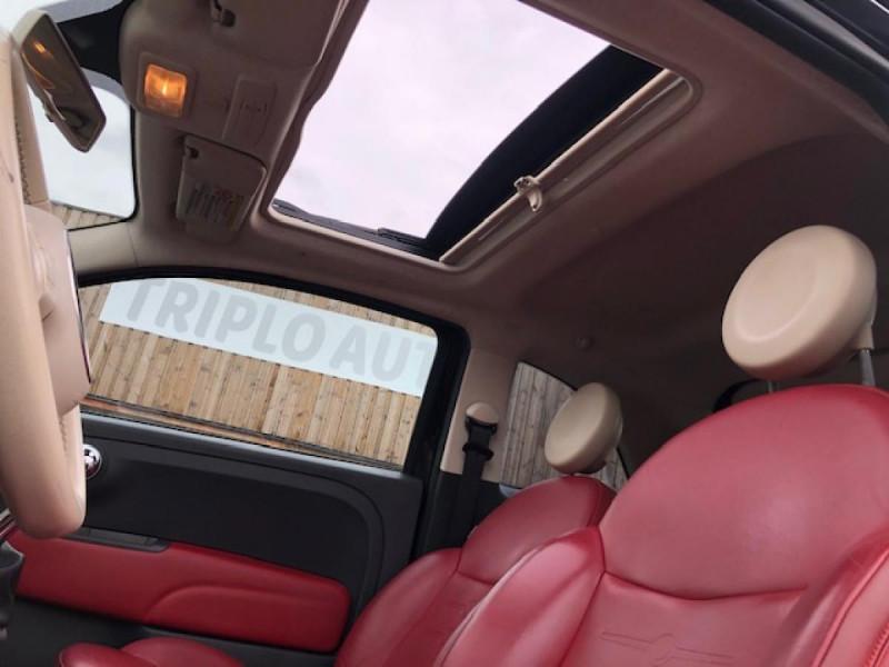 Photo 16 de l'offre de FIAT 500 1.3MJT75 LOUNGE CUIR TOIT OUVRANT CLIM CARNET ENTRETIEN OK à 5490€ chez Triplo auto