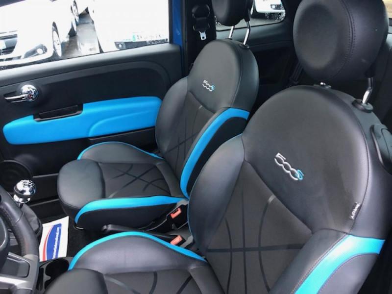 Photo 11 de l'offre de FIAT 500 S 1.2I - 69 CLIM RADAR TOIT UCONNECT à 9850€ chez Triplo auto