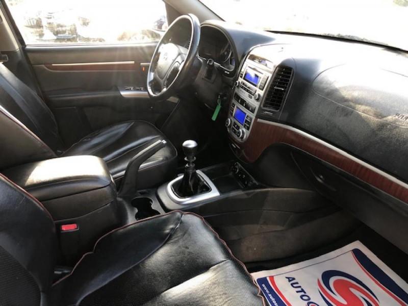 Photo 12 de l'offre de HYUNDAI SANTA FE 2.2 CRDI 155 4X4 7PL EXECUTIVE CUIR RADAR RECUL à 8990€ chez Triplo auto