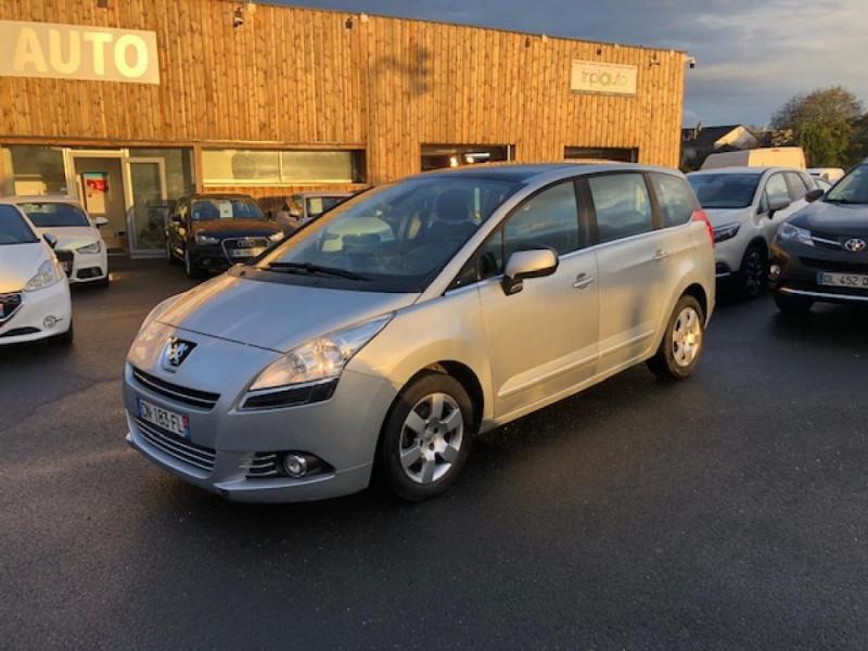 Peugeot 5008  1.6HDI112 5PL ALLURE GPS RADAR TOITPANO Diesel GRIS Occasion à vendre