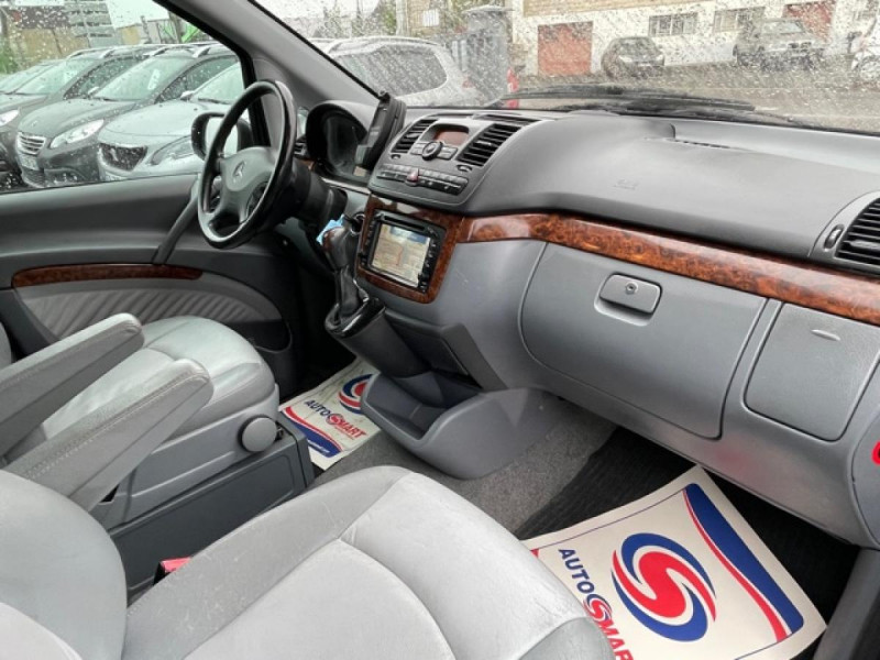 Photo 13 de l'offre de MERCEDES-BENZ VIANO 2.2CDI150 BVA COMPACTAMBIENTE CLIM GPS CAMERA à 15490€ chez Triplo auto