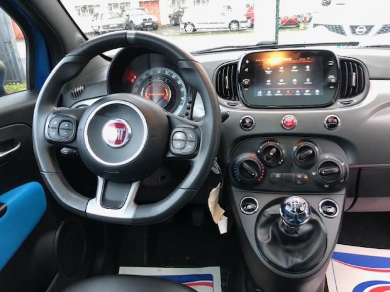 Photo 13 de l'offre de FIAT 500 S 1.2I - 69 CLIM RADAR TOIT UCONNECT à 9850€ chez Triplo auto