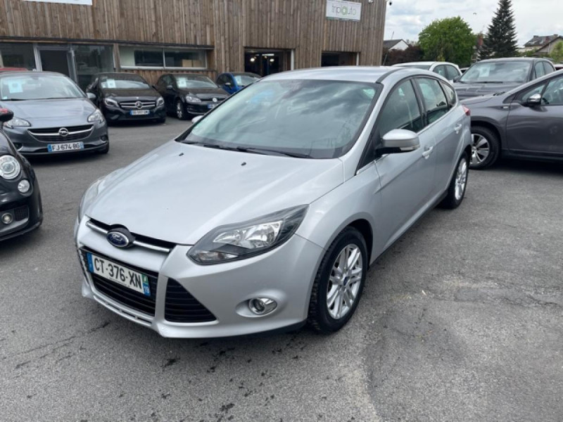 Photo 1 de l'offre de FORD FOCUS 2.0TDCI115-BVA POWERSHIFT  TITANIUM CLIM RADAR à 8990€ chez Triplo auto