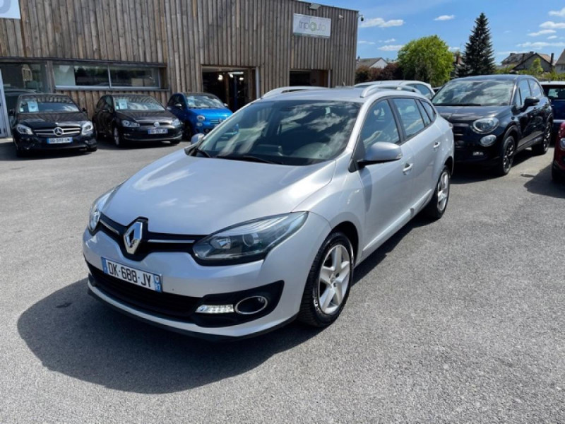 Renault MEGANE 1.5DCI-110  BUSINESS GPS RADAR RECUL Diesel GRIS Occasion à vendre