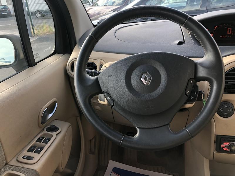 Photo 12 de l'offre de RENAULT MODUS 1.6I 113   PACK CLIM DYNAMIQUE  à 3490€ chez Triplo auto