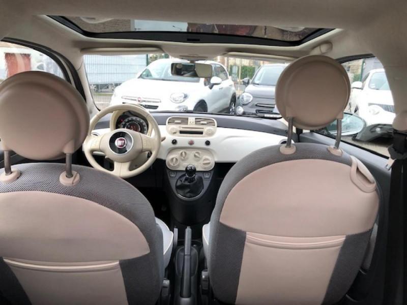 Photo 10 de l'offre de FIAT 500 1.2I-69 LOUNGE CLIM   DISTRI OK à 5990€ chez Triplo auto