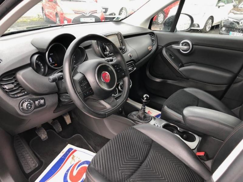 Photo 11 de l'offre de FIAT 500X 1.6 MJT120 S-DESIGN GPS RADAR 1ERE MAIN à 10990€ chez Triplo auto