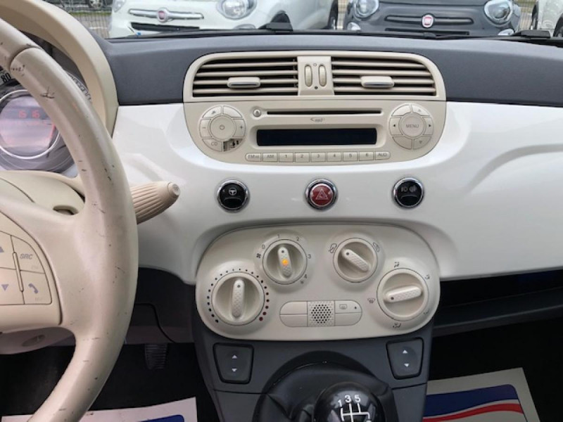 Photo 15 de l'offre de FIAT 500 1.2I-69 LOUNGE CLIM   DISTRI OK à 5990€ chez Triplo auto