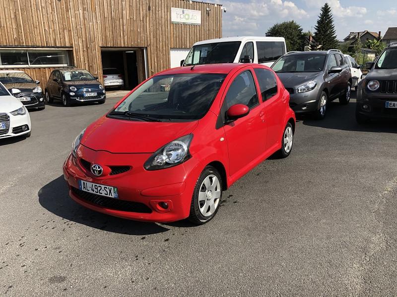 Photo 1 de l'offre de TOYOTA AYGO 1.0 68 CONFORT CLIM 5PORTES GAR3MOIS à 3490€ chez Triplo auto