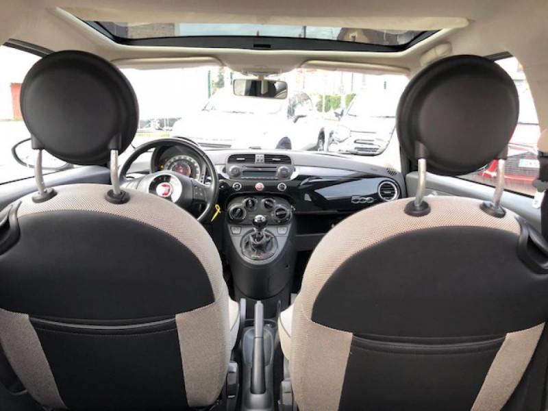 Photo 10 de l'offre de FIAT 500 1.2I 69 LOUNGE CLIM   DISTRI OK   ENTRETIEN OK GAR3MOIS à 5490€ chez Triplo auto