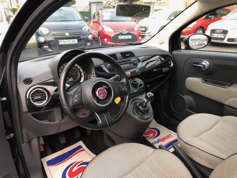 Photo 12 de l'offre de FIAT 500 1.2I 69 LOUNGE CLIM   DISTRI OK   ENTRETIEN OK GAR3MOIS à 5490€ chez Triplo auto