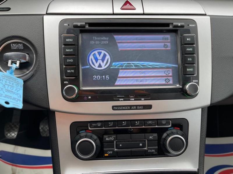 Photo 15 de l'offre de VOLKSWAGEN PASSAT CC CC 2.0 TDI 140 DISTRI OK à 7490€ chez Triplo auto