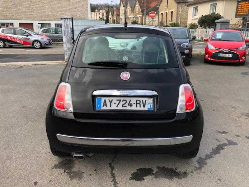 Photo 4 de l'offre de FIAT 500 1.2I 69 LOUNGE CLIM   DISTRI OK   ENTRETIEN OK GAR3MOIS à 5490€ chez Triplo auto