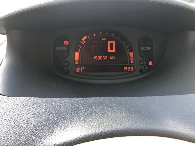 Photo 14 de l'offre de RENAULT MODUS 1.6I 113   PACK CLIM DYNAMIQUE  à 3490€ chez Triplo auto