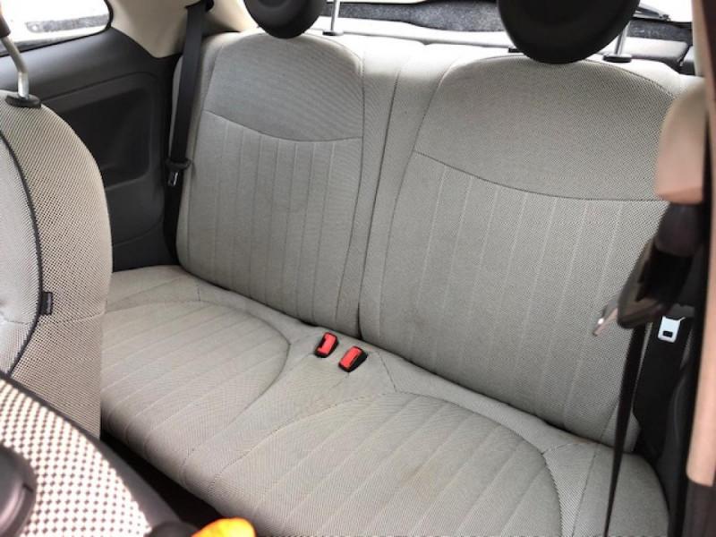 Photo 11 de l'offre de FIAT 500 1.2I 69 LOUNGE CLIM   DISTRI OK   ENTRETIEN OK GAR3MOIS à 5490€ chez Triplo auto