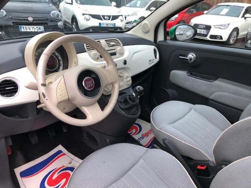 Photo 12 de l'offre de FIAT 500 1.2I-69 LOUNGE CLIM   DISTRI OK à 5990€ chez Triplo auto