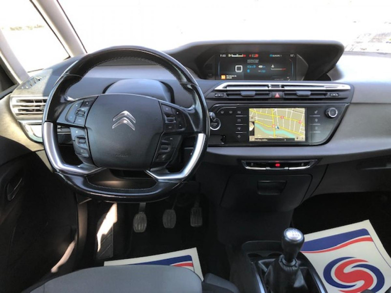 Photo 15 de l'offre de CITROEN C4 PICASSO 1.6 BHDI 120 7PLACES S&S INTENSIVE GPS RADAR à 13390€ chez Triplo auto