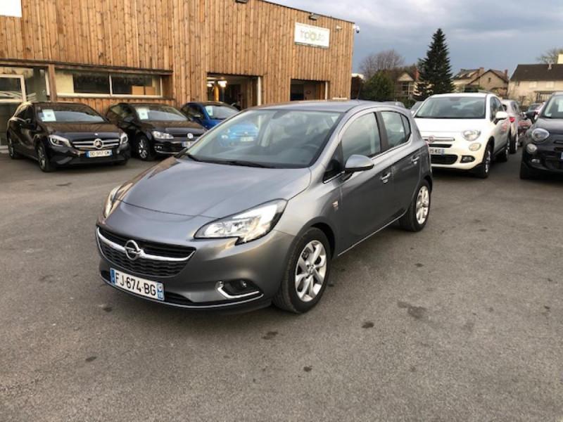 Opel CORSA 1.4I TURBO - 100 S&S  E BERLINE DESIGN 120 ANS  Essence GRIS FONCé Occasion à vendre