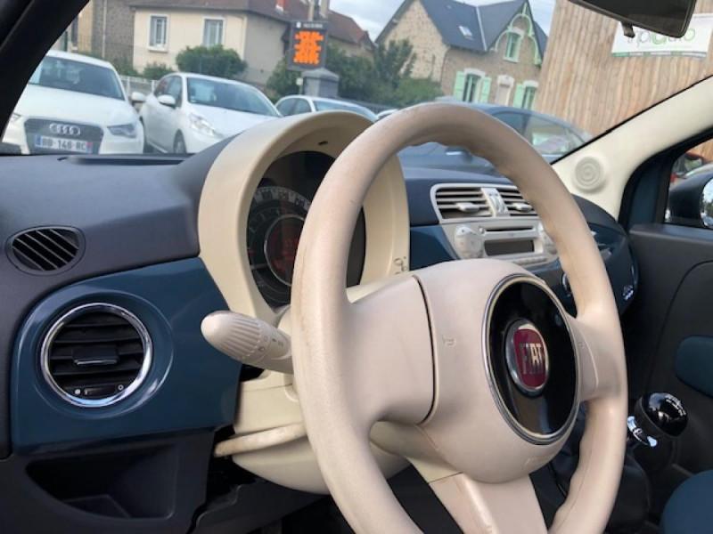 Photo 19 de l'offre de FIAT 500 1.2I - 69 POP DISTRI ENTRETIEN OK à 4490€ chez Triplo auto
