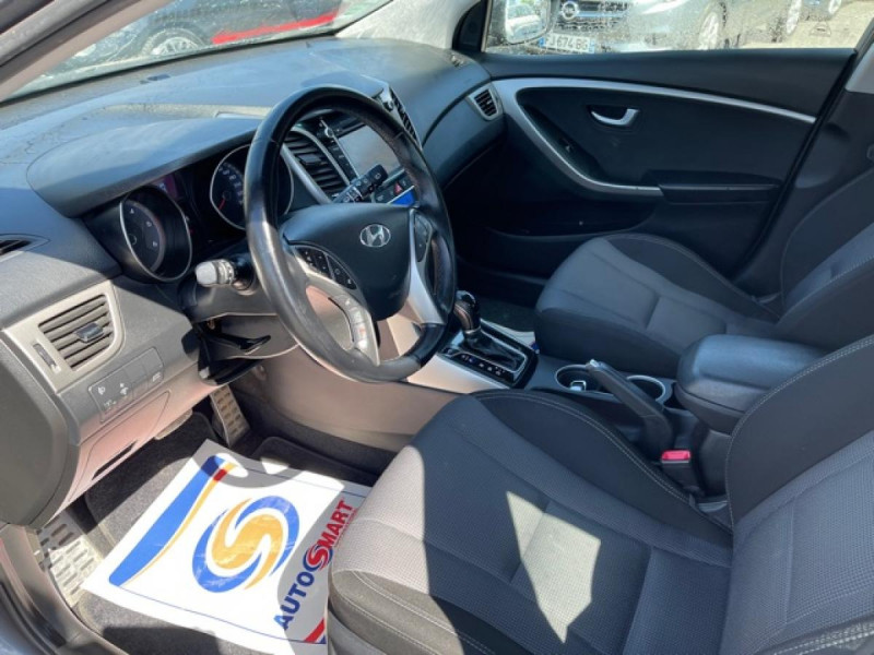 Photo 12 de l'offre de HYUNDAI I30 1.6 CRDI - 110 - BVA DCT-7 EXECUTIVE GPS à 10990€ chez Triplo auto