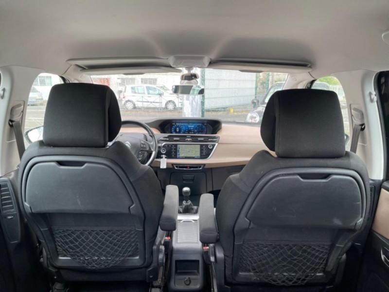 Photo 5 de l'offre de CITROEN C4 PICASSO 1.6 E-HDI115 INTENSIVE GPS RADAR 1ERE MAIN CARNET A JOUR à 8250€ chez Triplo auto