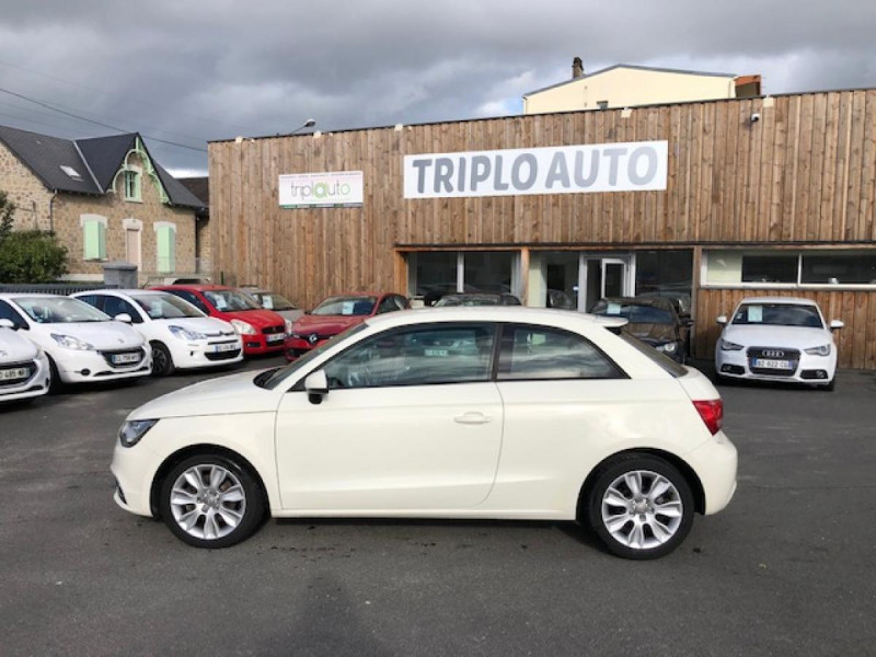 Photo 2 de l'offre de AUDI A1 1.6TDI105  AMBITION CLIM RADAR DISTRI OK à 8990€ chez Triplo auto