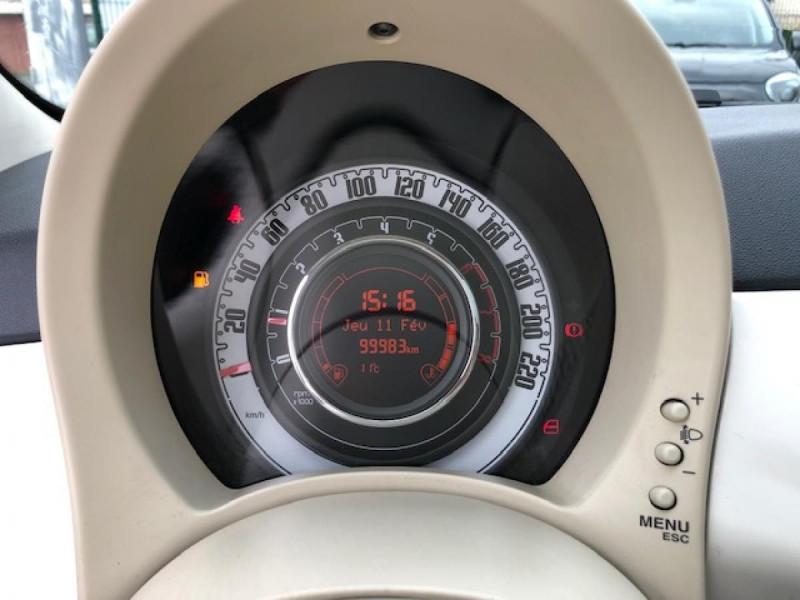 Photo 16 de l'offre de FIAT 500 1.2I-69 LOUNGE CLIM   DISTRI OK à 5990€ chez Triplo auto