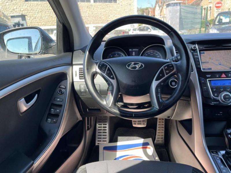 Photo 17 de l'offre de HYUNDAI I30 1.6 CRDI - 110 - BVA DCT-7 EXECUTIVE GPS à 10990€ chez Triplo auto