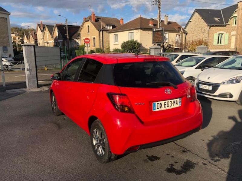 Photo 3 de l'offre de TOYOTA YARIS 1.3VVT-I100 LOUNGE GPS CAMERA RECUL à 7990€ chez Triplo auto