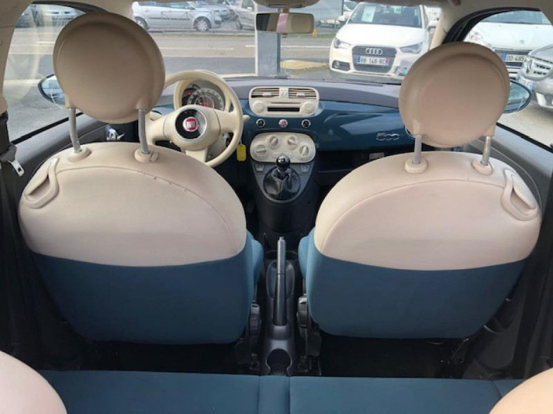 Photo 10 de l'offre de FIAT 500 1.2I - 69 POP DISTRI ENTRETIEN OK à 4490€ chez Triplo auto