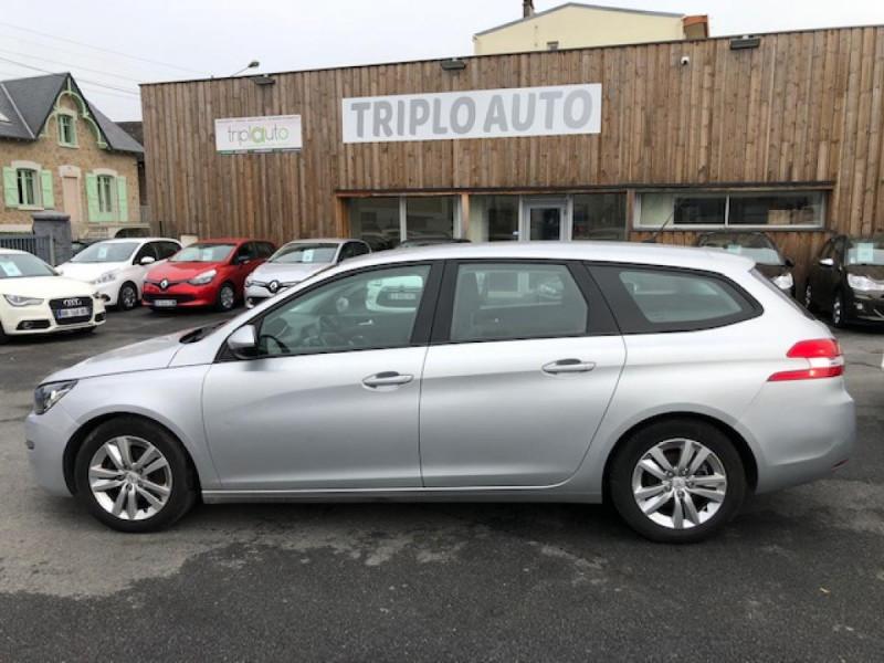 Photo 2 de l'offre de PEUGEOT 308  SW 1.6 HDI 92 ACTIVE GPS RADAR à 7490€ chez Triplo auto