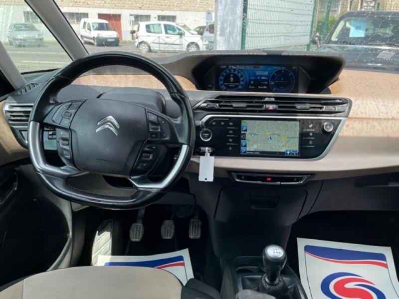 Photo 14 de l'offre de CITROEN C4 PICASSO 1.6 E-HDI115 INTENSIVE GPS RADAR 1ERE MAIN CARNET A JOUR à 8250€ chez Triplo auto