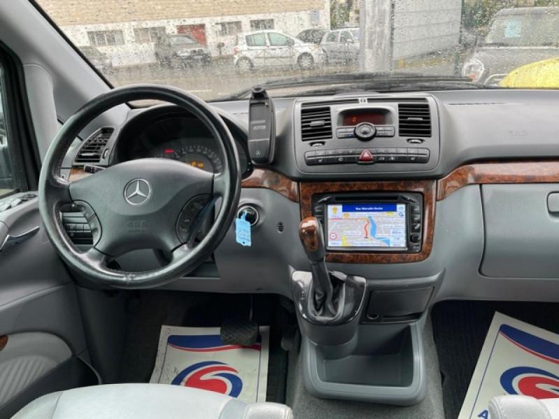Photo 17 de l'offre de MERCEDES-BENZ VIANO 2.2CDI150 BVA COMPACTAMBIENTE CLIM GPS CAMERA à 15490€ chez Triplo auto