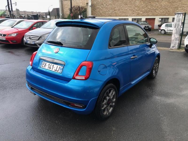 Photo 5 de l'offre de FIAT 500 S 1.2I - 69 CLIM RADAR TOIT UCONNECT à 9850€ chez Triplo auto