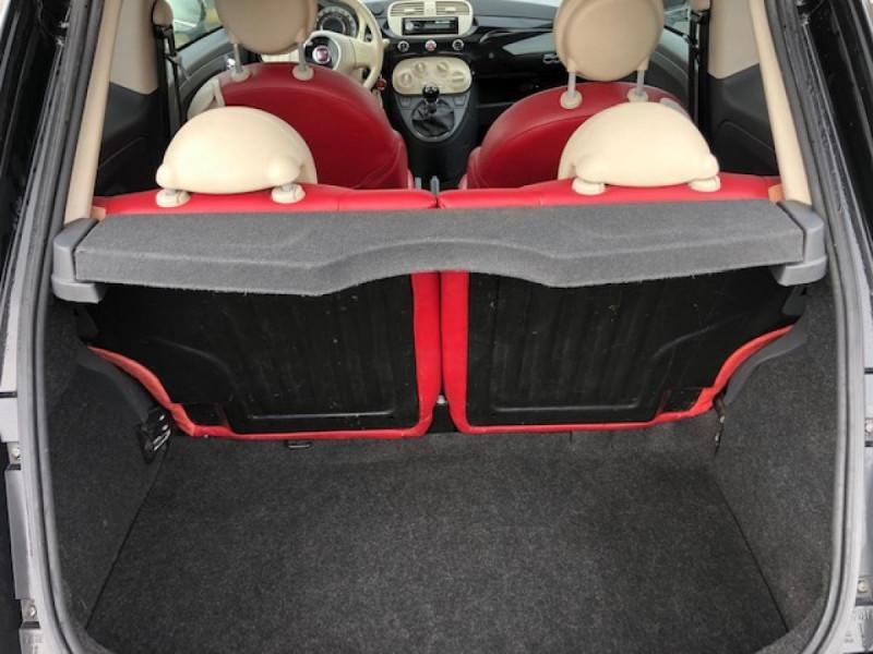 Photo 9 de l'offre de FIAT 500 1.3MJT75 LOUNGE CUIR TOIT OUVRANT CLIM CARNET ENTRETIEN OK à 5490€ chez Triplo auto